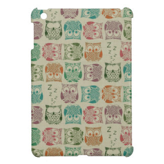 Vintage Sherbet Owls Cover For The iPad Mini