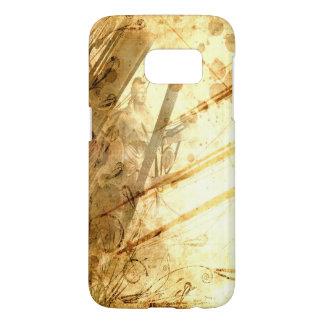 Vintage Ship Ocean Amber Earth Tone Caramel Samsung Galaxy S7 Case