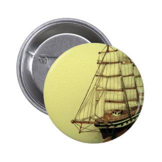 Vintage Ship Photo Button