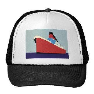 Vintage Ship Trucker Hat