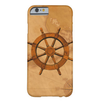 Vintage Ship Wheel Barely There iPhone 6 Case