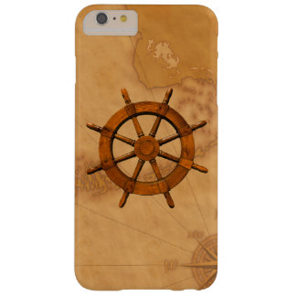 Vintage Ship Wheel Barely There iPhone 6 Plus Case