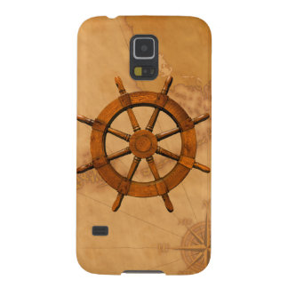 Vintage Ship Wheel Cases For Galaxy S5