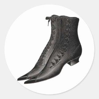 Vintage Shoe 3 Stickers