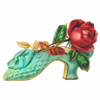 Vintage Shoe Photo Sculpture