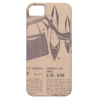 Vintage Shoes and Handbags iPhone 5/5S Case