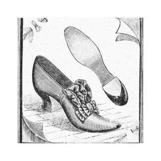 Vintage Shoes Canvas Print