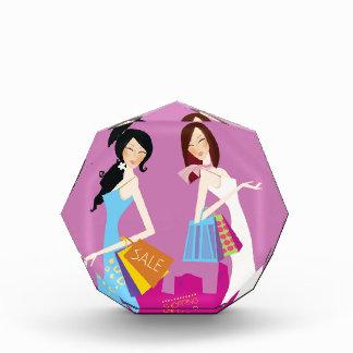 VINTAGE Shopping girls in town Purple Award
