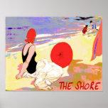 Vintage Shore Print
