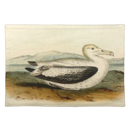 Vintage Short Tailed Albatross Bird Placemats
