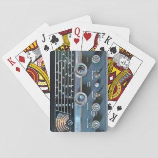 Vintage Short Wave Radio Playing Cards