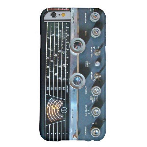 Vintage Short Wave Radio Receiver iPhone 6 Case