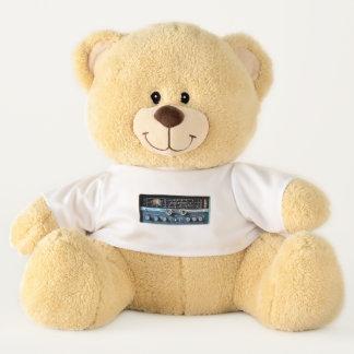 Vintage Short Wave Radio Receiver Teddy Bear