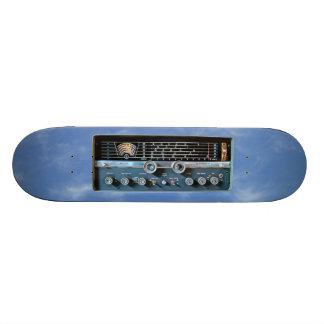 Vintage Short Wave Radio Skateboard