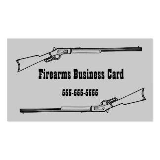 Vintage Shotgun Business Card
