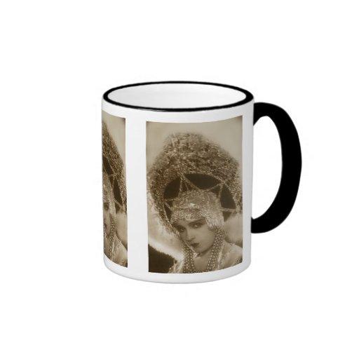 Vintage Showgirl Coffee Mugs