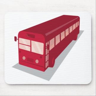 vintage shuttle bus coach retro mouse pad