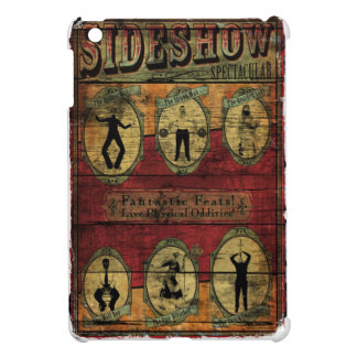 Vintage Sideshow Banner iPad Mini Cover