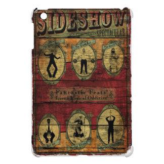 Vintage Sideshow Banner iPad Mini Cover
