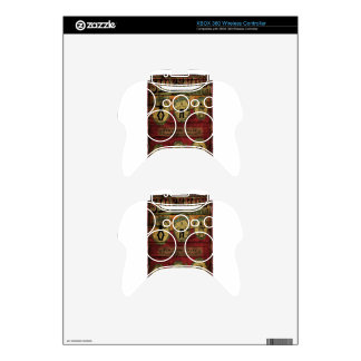 Vintage Sideshow Banner Xbox 360 Controller Decal