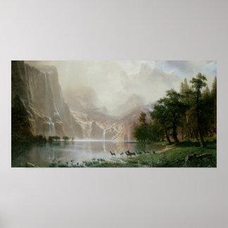 Vintage Sierra Nevada Poster