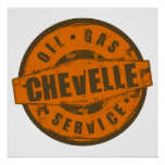 Vintage Sign Chevelle Poster