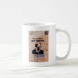 Vintage sign coffee mug