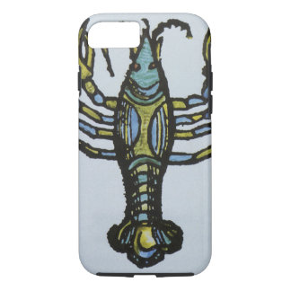 Vintage Sign of the Zodiac, Cancer the Crab iPhone 8/7 Case