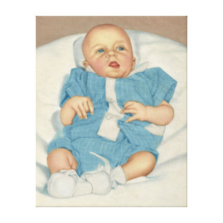 vintage silk screen hand painted picture canvas print