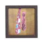 Vintage Silk Ties Premium Trinket Boxes