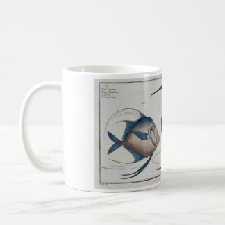 Vintage Silver Fish Mug