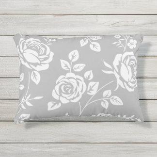 Vintage_Silver_Floral_OUTDOOR-INDOOR-Pillows Outdoor Pillow