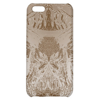 Vintage Silver Graphic - Cave Style Art Patterns iPhone 5C Case