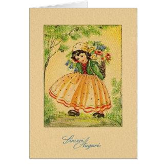 italian greeting cards  zazzle, Birthday card