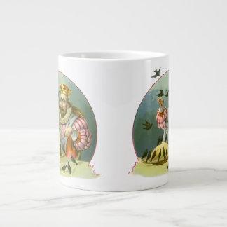 Vintage Sing a Song of Sixpence Nursery Rhyme Jumbo Mugs