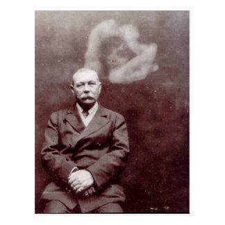Vintage Sir Arthur Conan Doyle Victorian Ghost Postcard