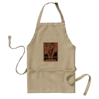Vintage Sirop de Framboise Ad Aprons