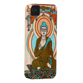 Vintage Sitting Buddha Art Custom BlackBerry Bold  Case-Mate iPhone 4 Case
