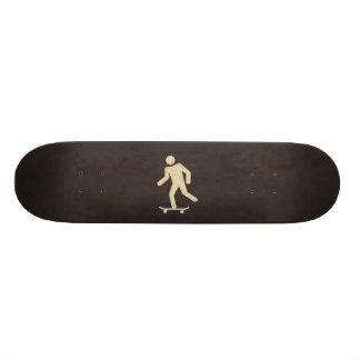 vintage skateboarder skateboard deck