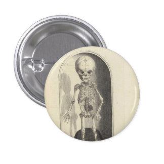 Vintage Skeleton Button