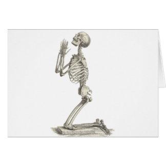 Vintage Skeleton Card