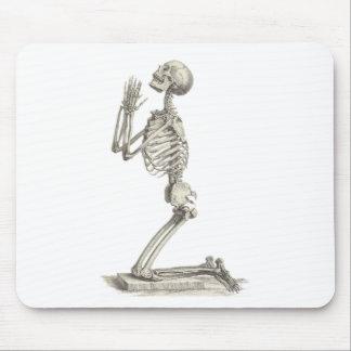 Vintage Skeleton Mouse Pad