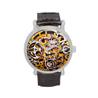 Vintage Skeleton Watch Gears Steampunk Steam Punk