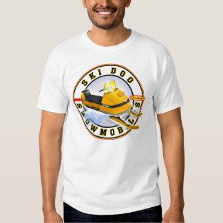 Vintage ski do snowmobile tshirt