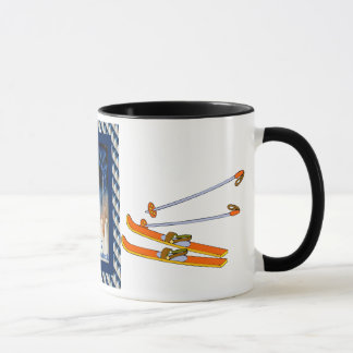 Vintage Ski  France Exposition internationale 1937 Mug