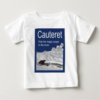 Vintage Ski Poster, Cauteret,Ride the Magic Carpet Infant T-shirt