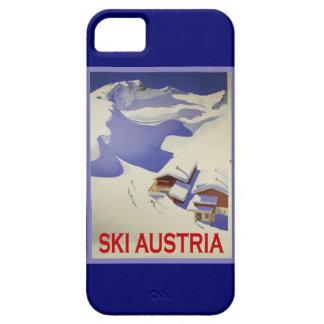 Vintage Ski Poster, Ski Austria iPhone SE/5/5s Case