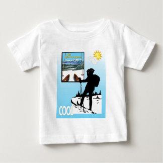 Vintage Ski Poster,  Ski Bretton Woods Tee Shirts