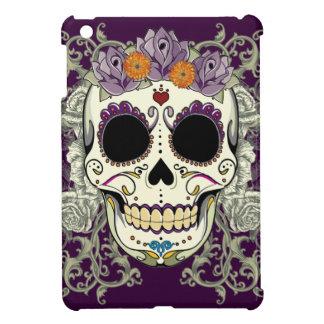 Vintage Skull and Flowers iPad Mini Case