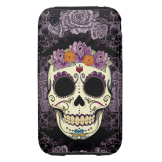 Vintage Skull and Roses iPhone 3 Case-Mate Case